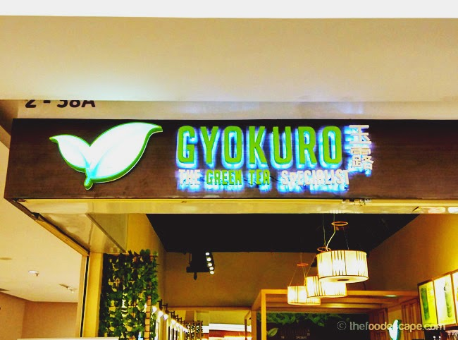 Gyokuro mall alam sutera tangerang food escape indonesian food blog last time when i went to mall alam sutera thecheapjerseys Image collections
