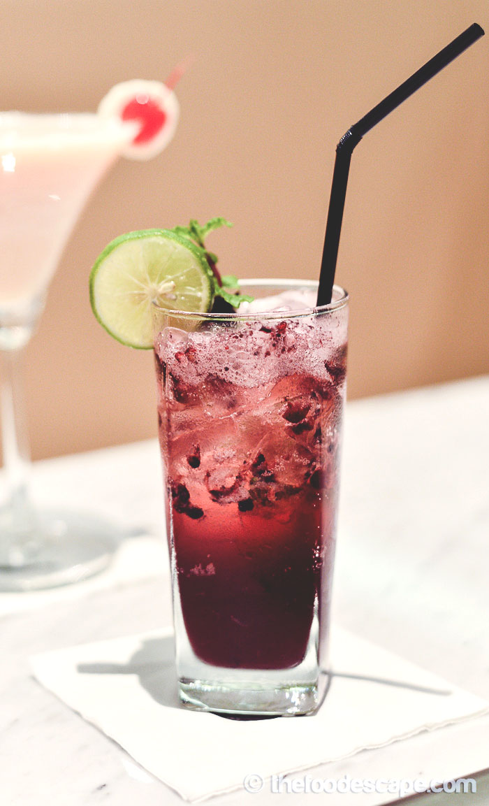 Blackberry Sage Lemonade IDR 45,000