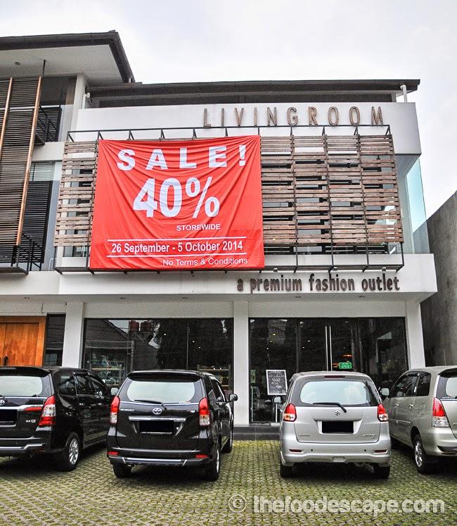 Living Room Cafe, Kemang, Jakarta - FOOD ESCAPE: INDONESIAN FOOD BLOG