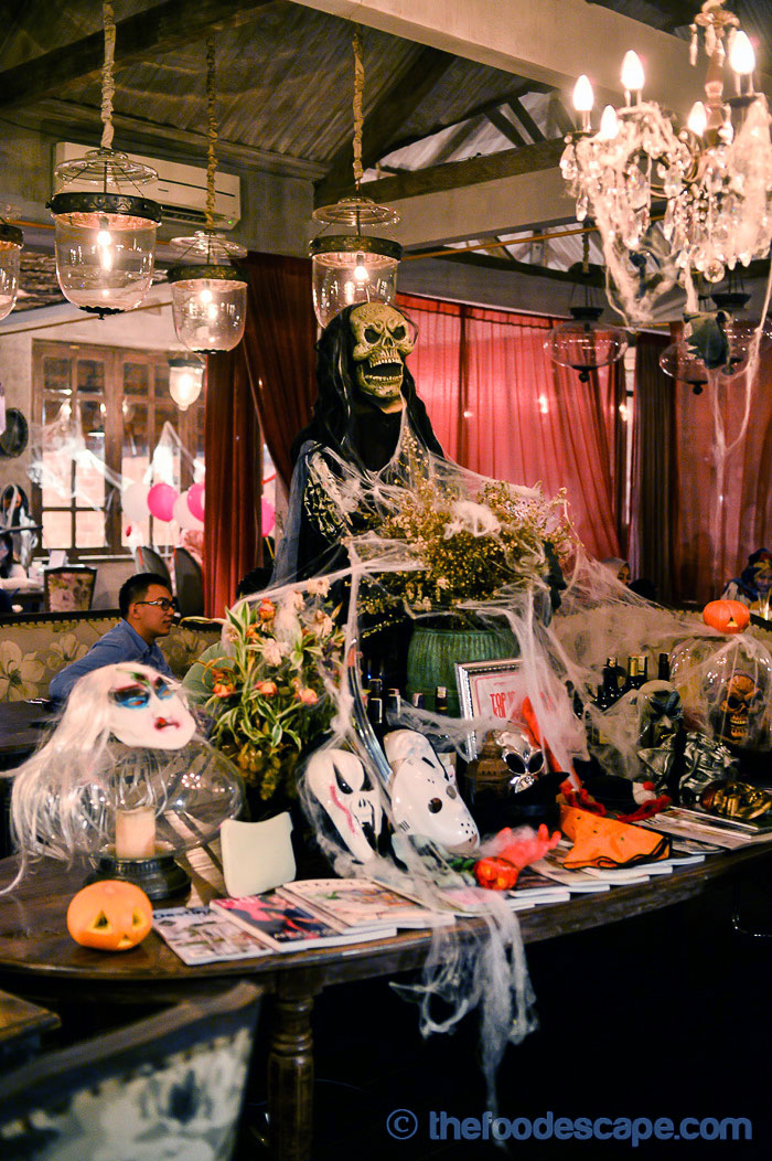 Bistronomy halloween house of the dead jakarta