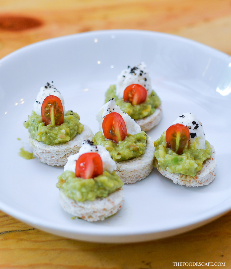 Smashed Avocado Crostini IDR 35,000