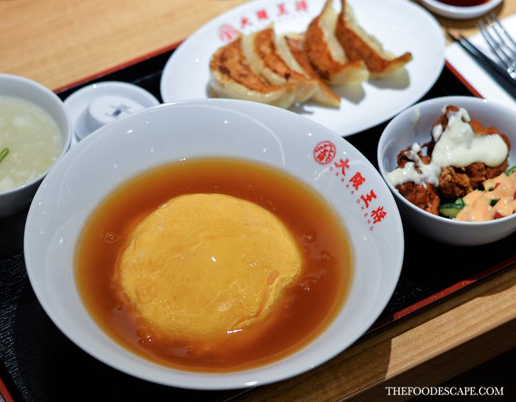 Tenshinhan Set IDR 85,000