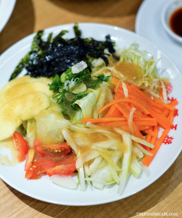 Japanese Salad with Apple Dressing IDR 25,000