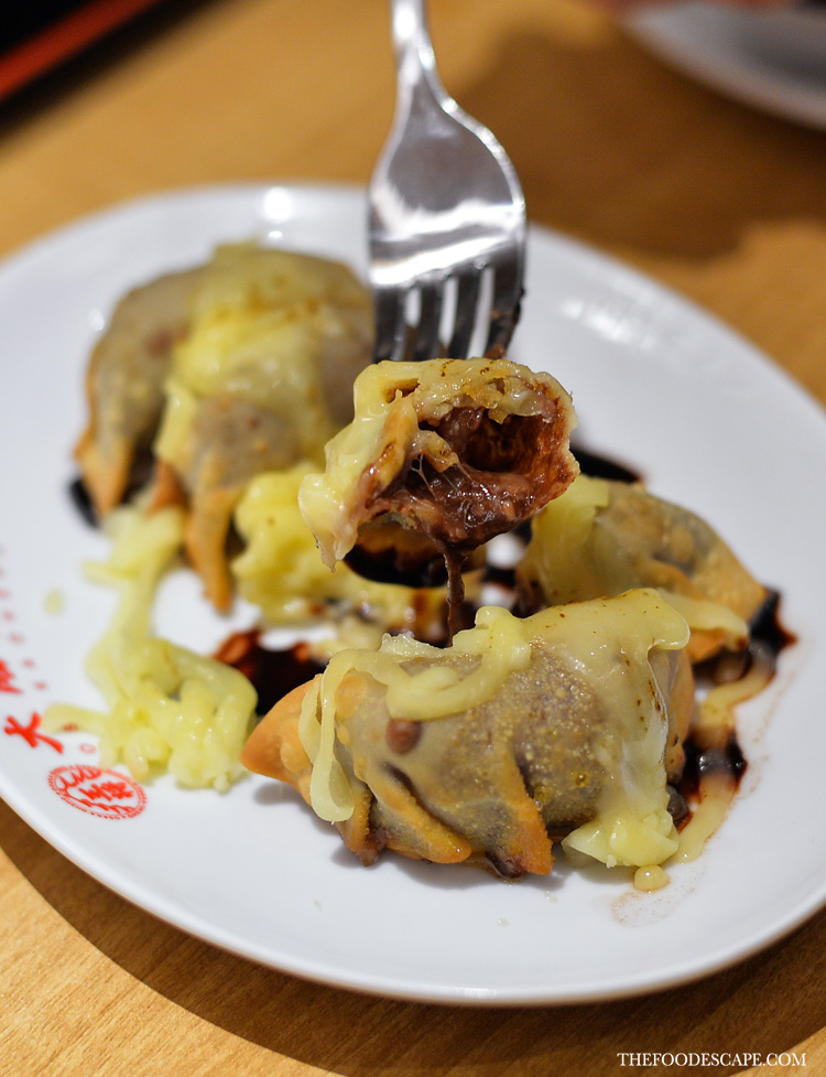 Chocolate Cheese Dessert Gyoza IDR 20,000