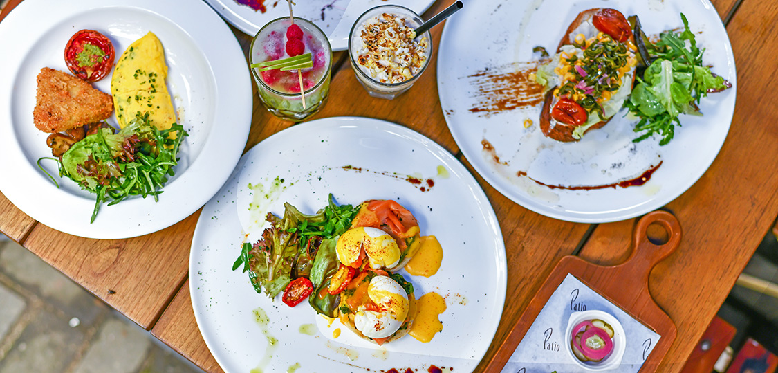 Patio Venue Dining Presents Weekend Brunch Food Escape